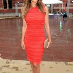 Elizabeth Hurley at the Victoria and Albert Museum Summer Party in London