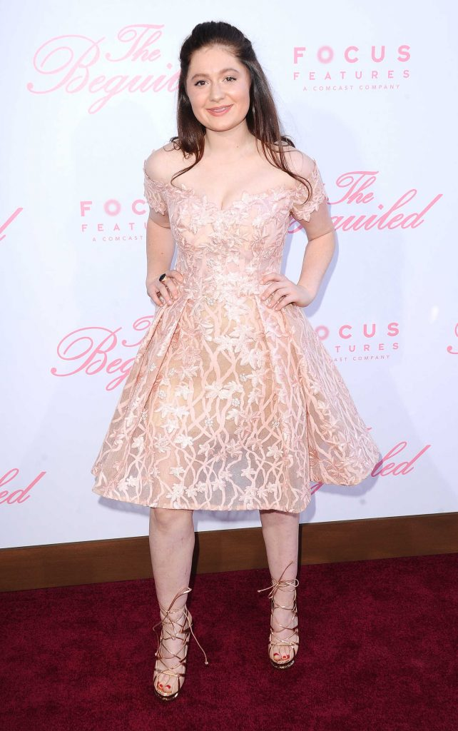Emma Kenney at The Beguiled Premiere in Los Angeles-2