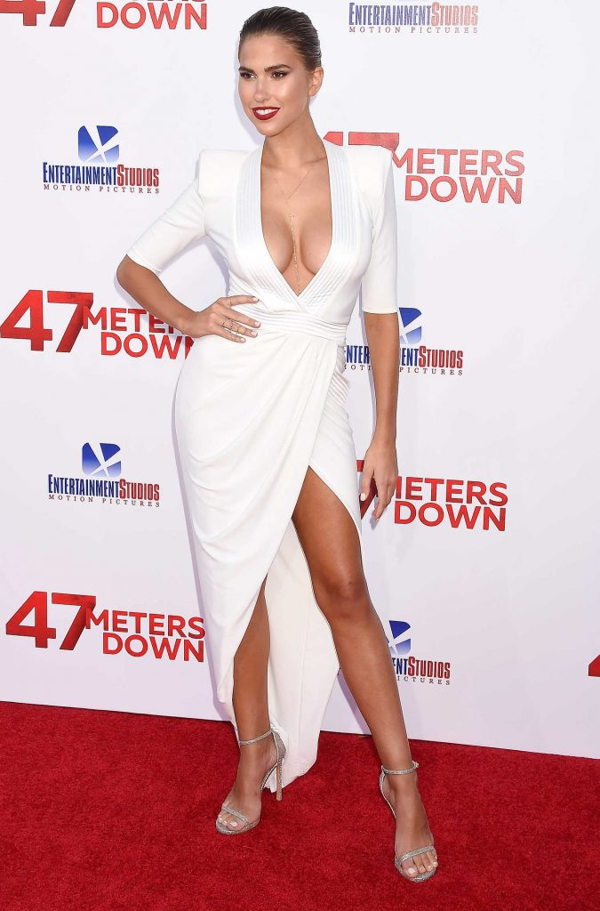 Kara Del Toro at the 47 Meters Down Premiere in Hollywood-1