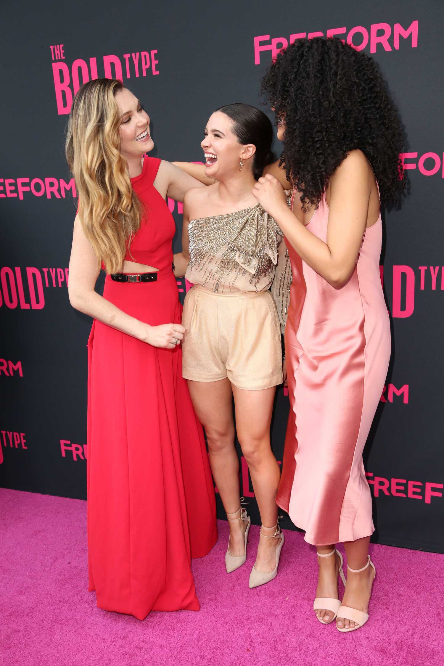 katie stevens at the bold type tv show premiere in new york celeb donut. Black Bedroom Furniture Sets. Home Design Ideas