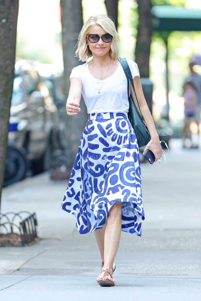 Kelly Ripa Arrives at the Lincoln Center in New York City-2
