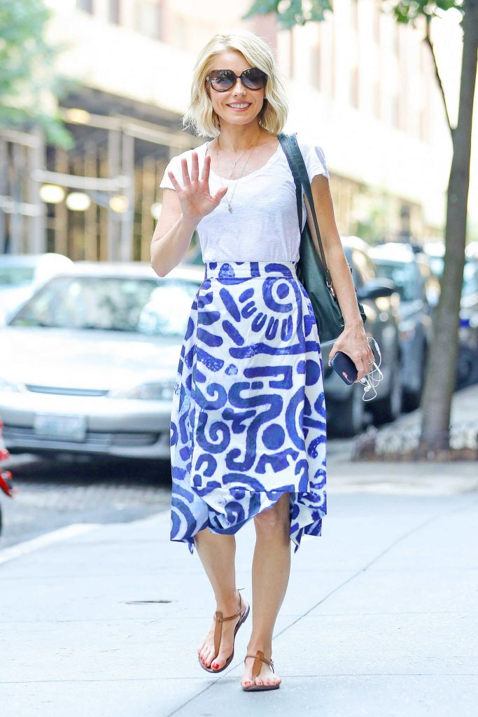 Kelly Ripa Arrives at the Lincoln Center in New York City-3