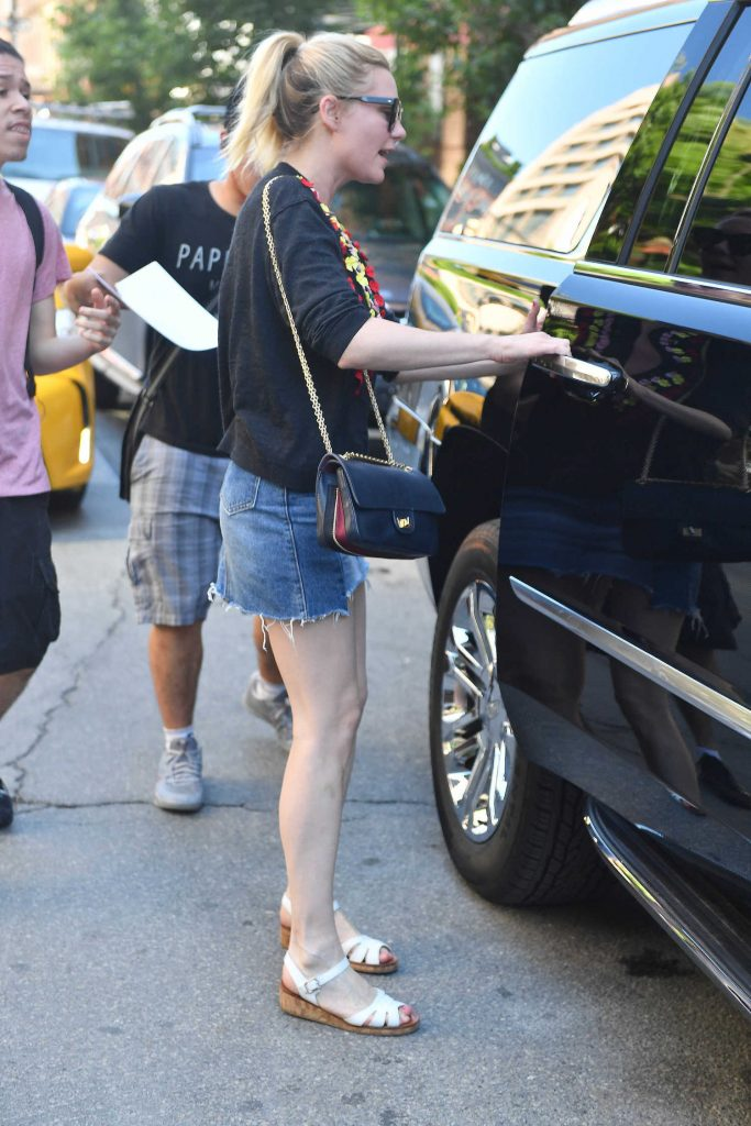 Kirsten Dunst Was Seen Out in New York City-5