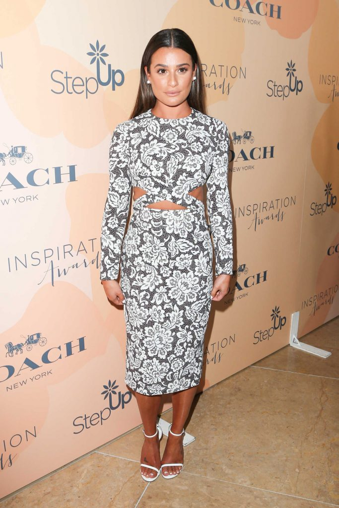 Lea Michele at Inspiration Awards in Los Angeles-1