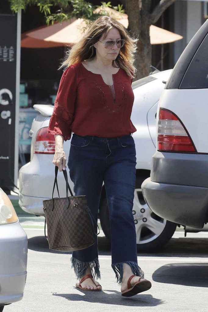 Linda Kozlowski Was Seen Out in Los Angeles-3