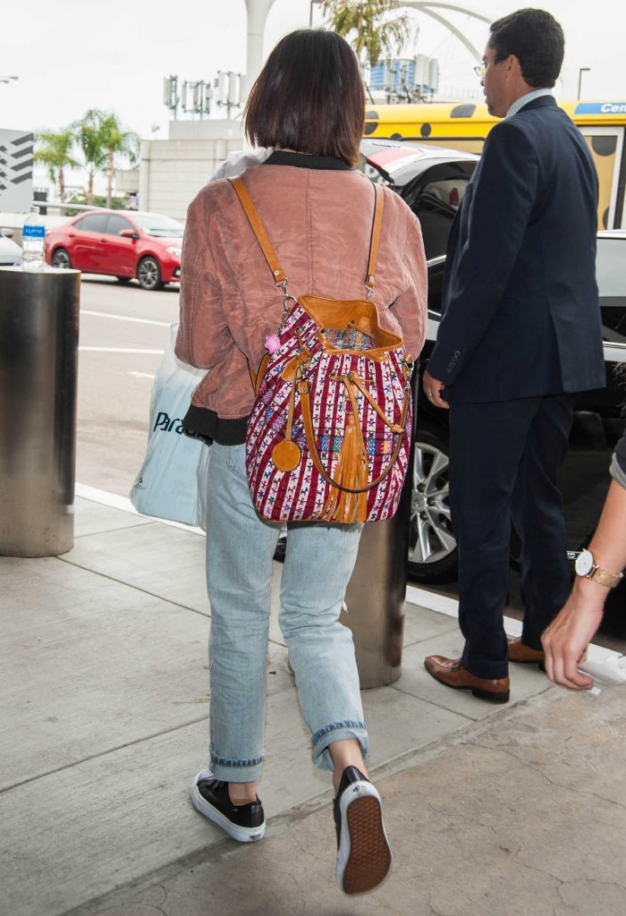 Lucy Hale at LAX Airport in LA-5
