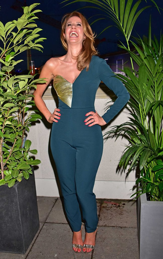 Mareile Hoppner at the Bertelsmann Party 2017 in Berlin ...