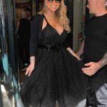 Mariah Carey Leaves the Plaza Athenee in Paris