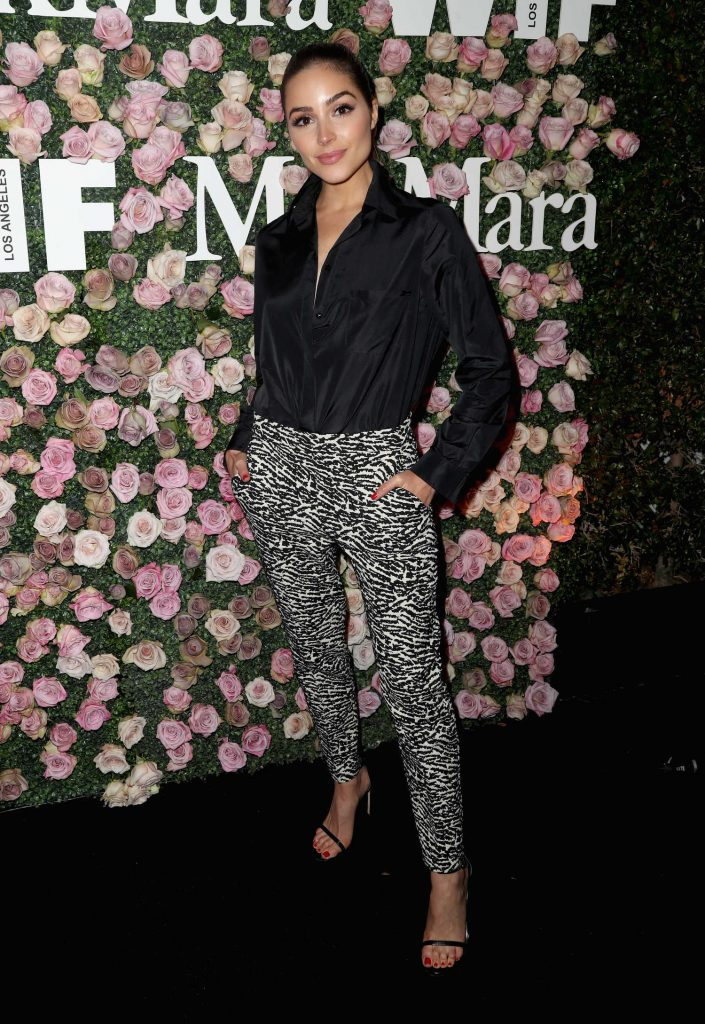 Olivia Culpo at the 2017 Women in Film Max Mara Face of the Future Awards in Los Angeles-1