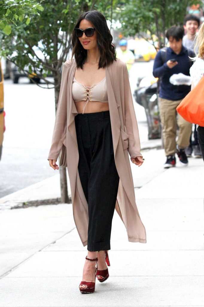 Olivia Munn Was Seen Out in Manhattan, New York-1