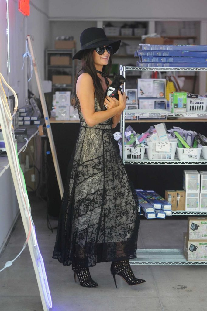 Paris Hilton Out for Shopping in Los Angeles-3