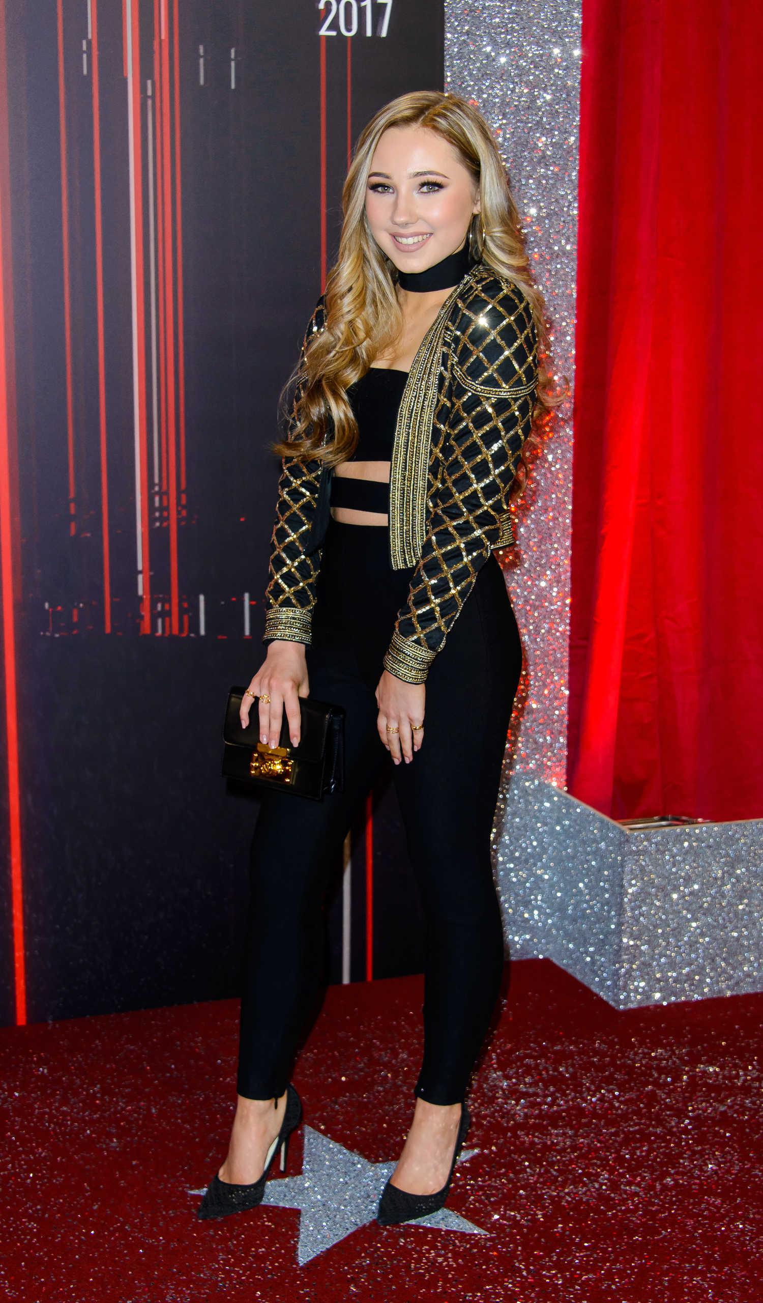 Ruby O Donnell At The 2017 British Soap Awards In