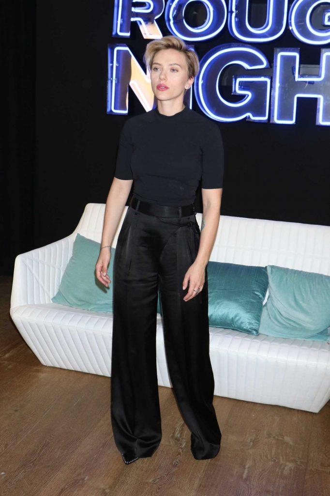 Scarlett Johansson at the Rough Night Photo Call-3