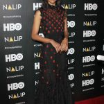 Zoe Saldana at the NALIP Latino Media Awards in Los Angeles