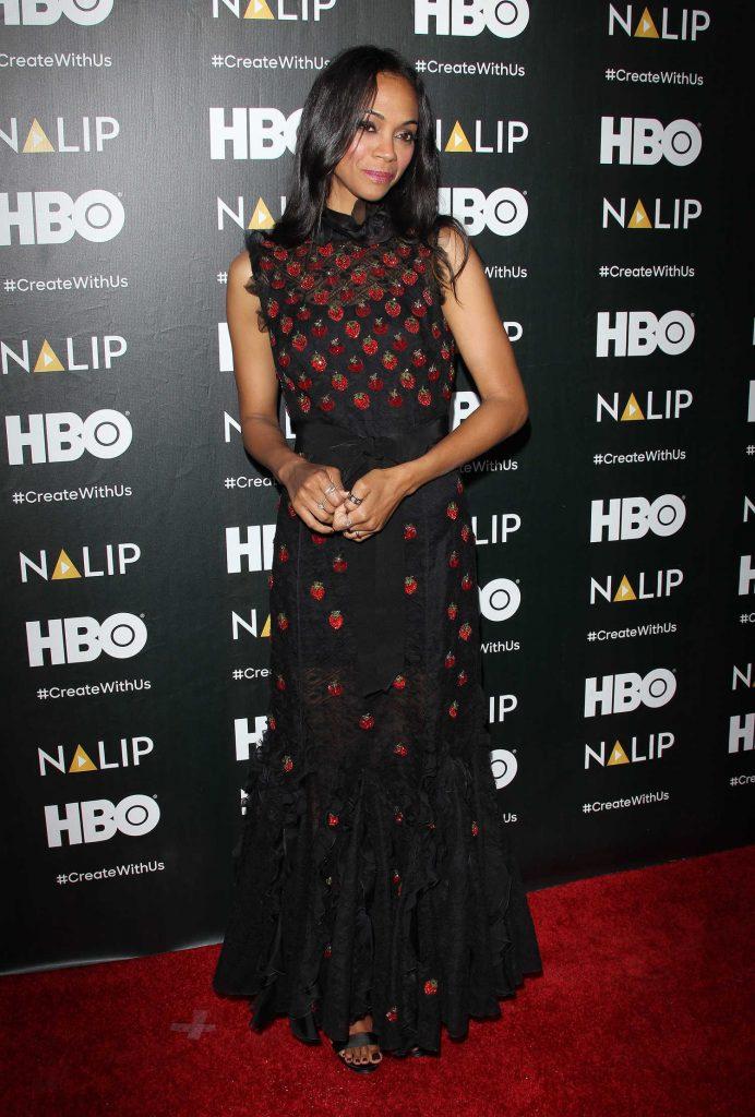 Zoe Saldana at the NALIP Latino Media Awards in Los Angeles-3