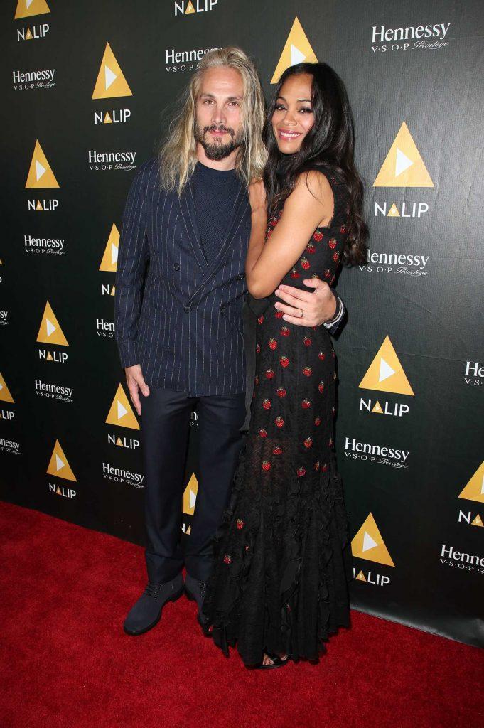 Zoe Saldana at the NALIP Latino Media Awards in Los Angeles-4