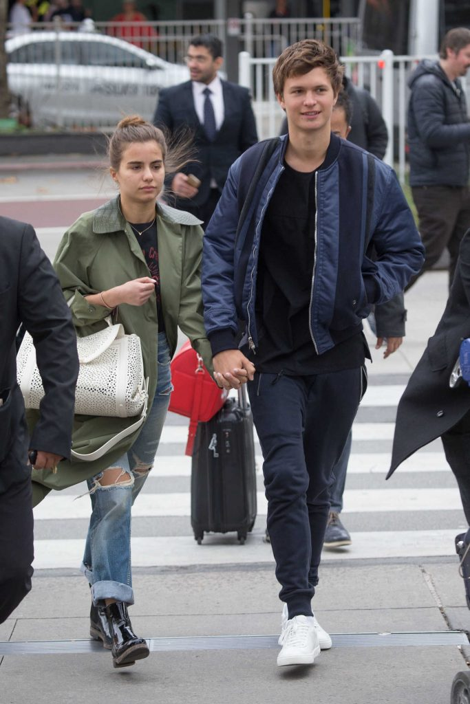 Ansel Elgort Arrives at Melbourne Airport With His Girlfriend Violetta Komyshan-1