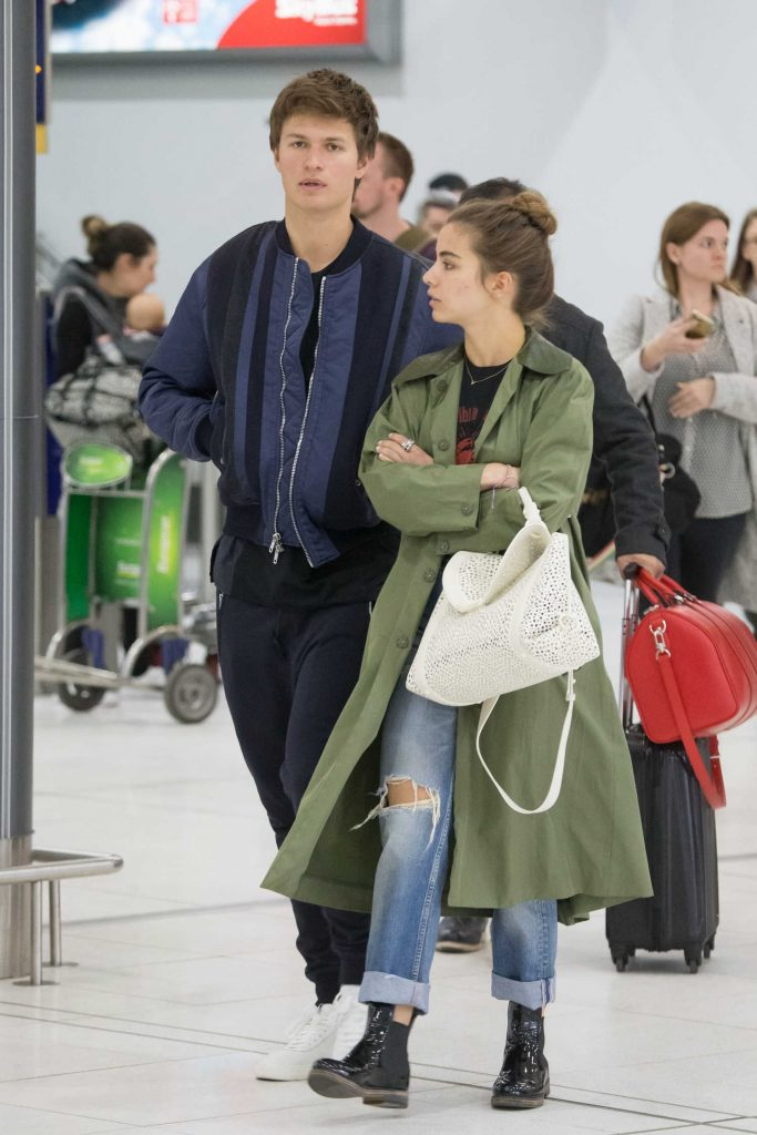 Ansel Elgort Arrives at Melbourne Airport With His Girlfriend Violetta Komyshan-2