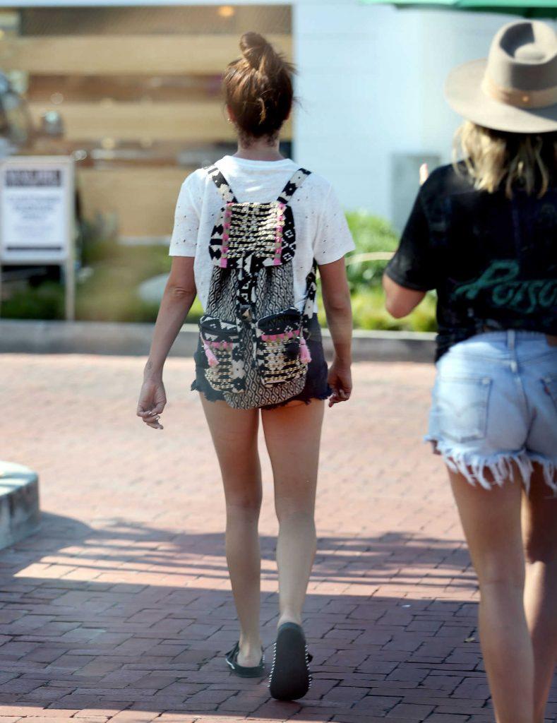 Ashley Tisdale Goes Shopping in Malibu-5