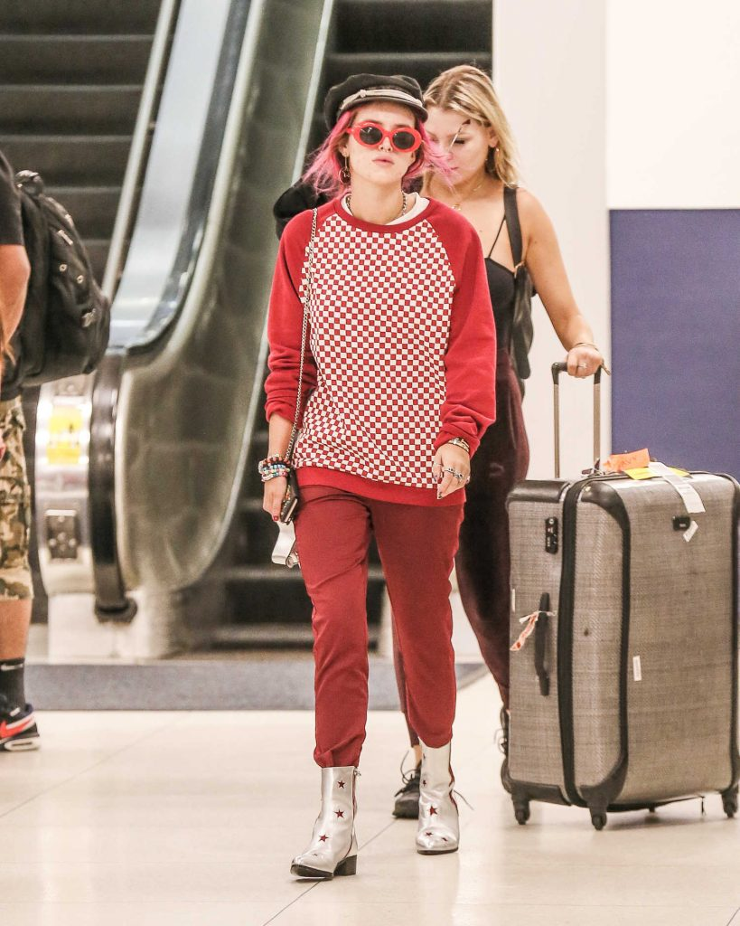 Bella Thorne at JFK Airport in New York City-1