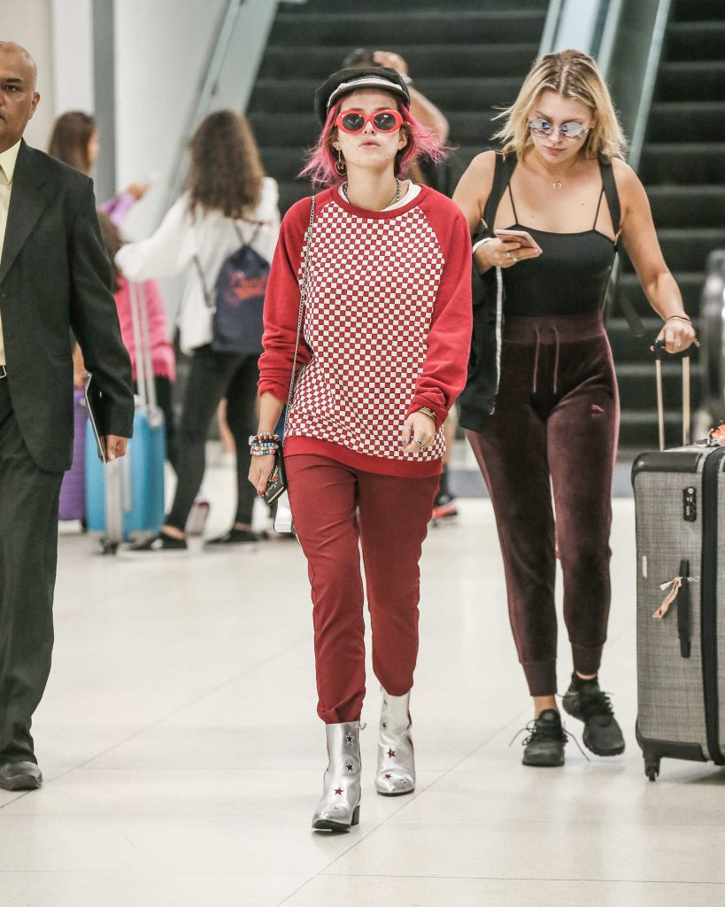 Bella Thorne at JFK Airport in New York City-2