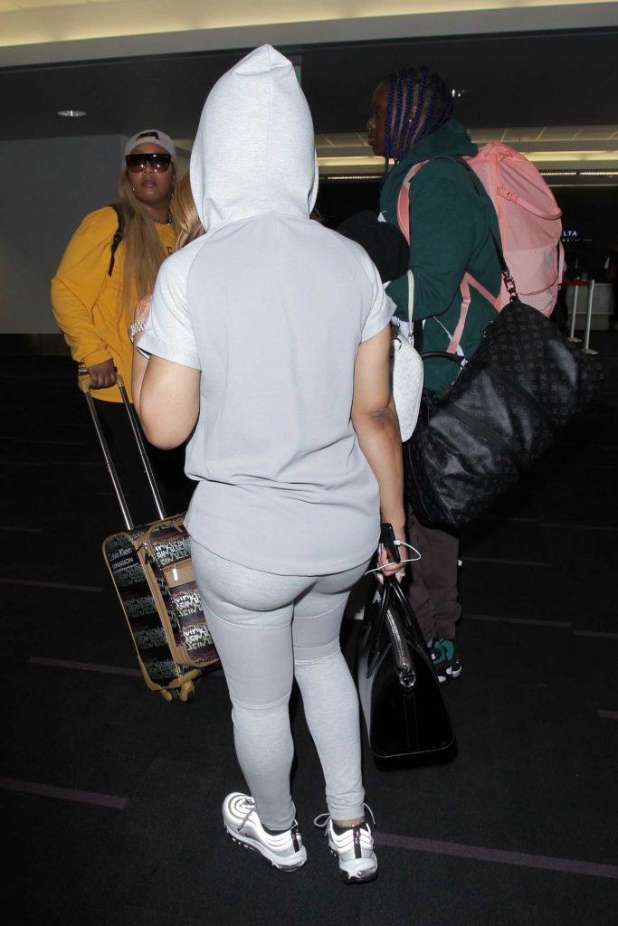 Blac Chyna Was Spotted Out in Los Angeles-5