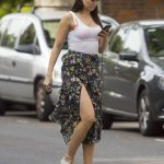 Daisy Lowe Goes Shopping Out in London