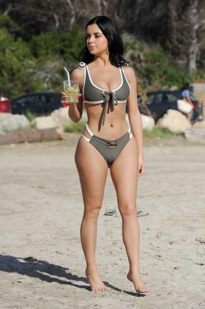 Demi Rose Posing in Bikini in Ibiza-2