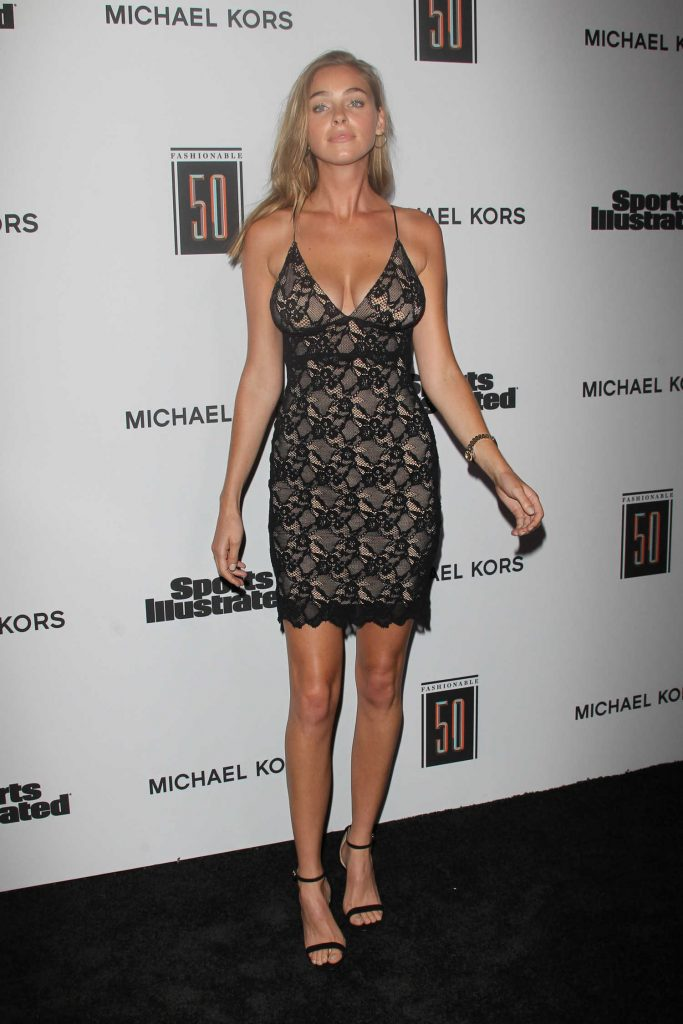 Elizabeth Turner at the Sports Illustrated Fashionable 50 in Hollywood-1
