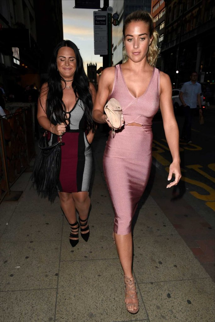 Gemma Atkinson Night Out in Manchester-3