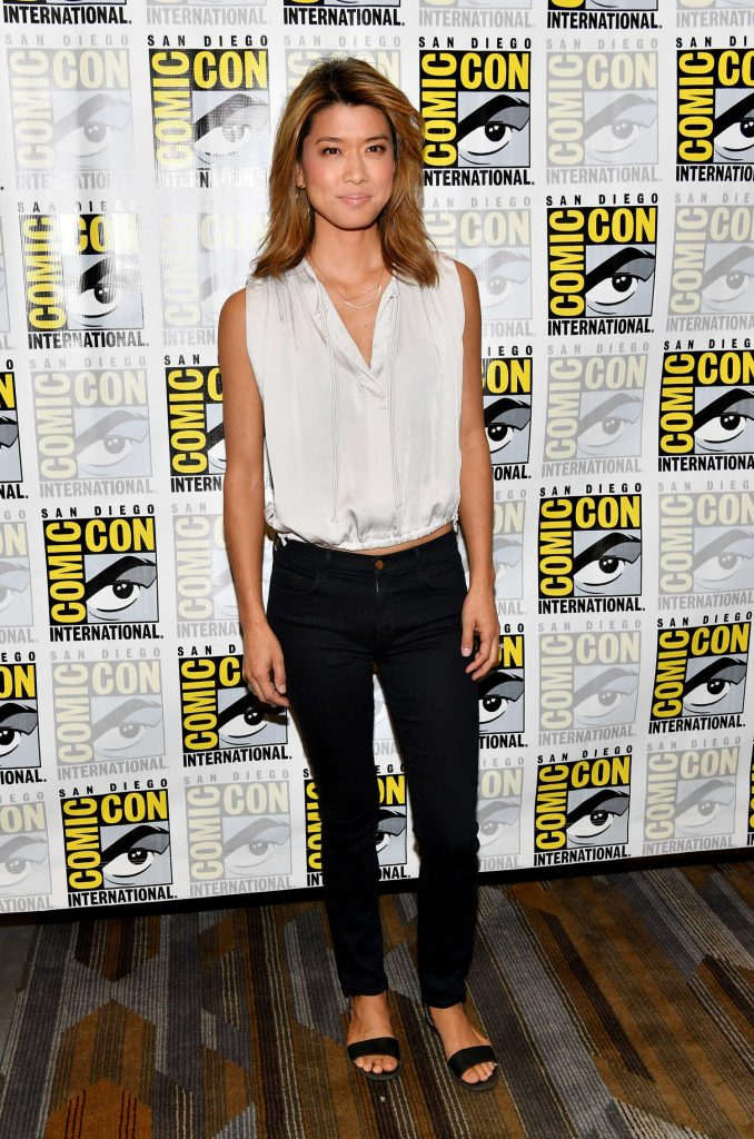 Grace Park at Battlestar Galactica Presentation During the San Diego Comic-Con International-1