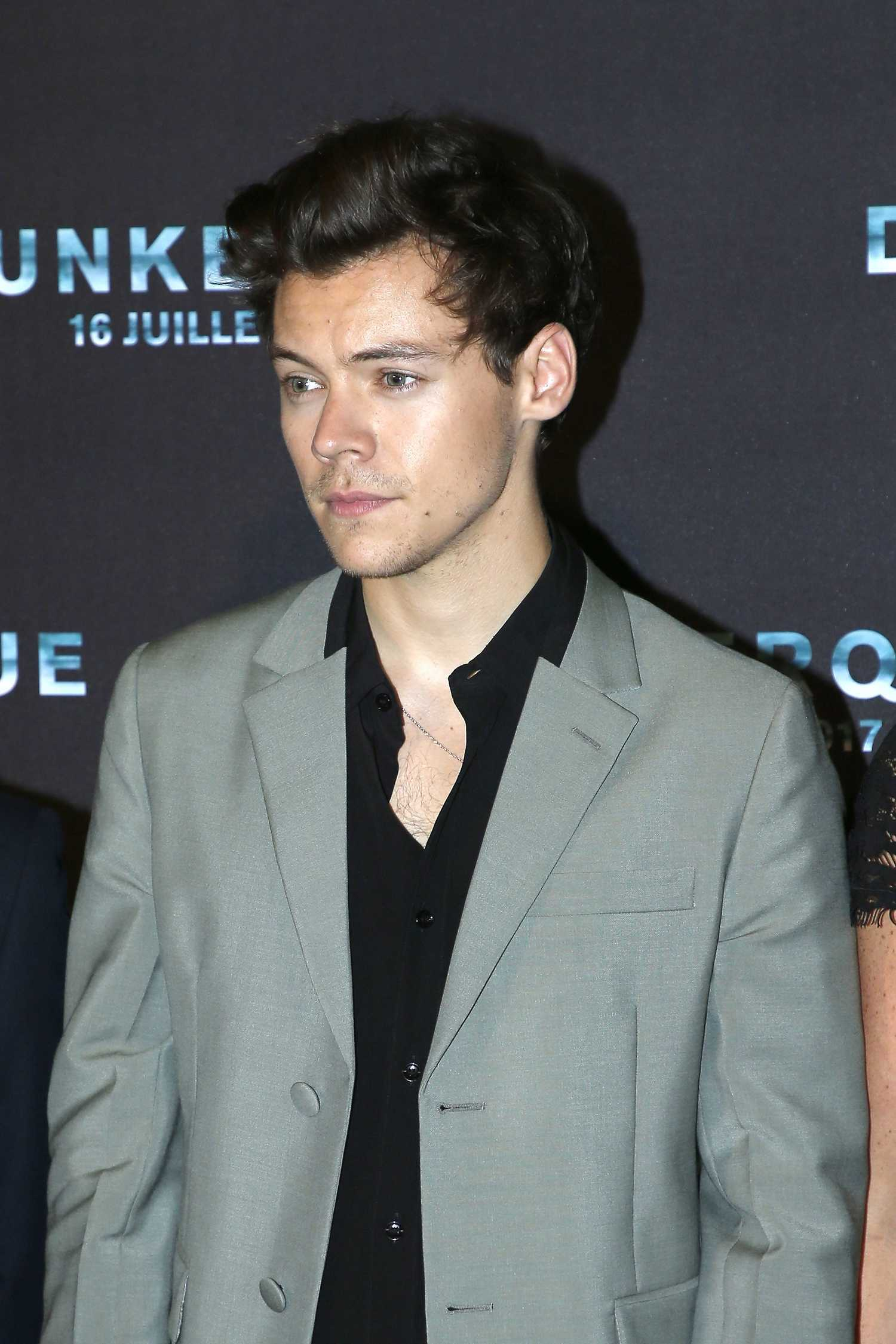 Harry Styles at the Dunkirk Photocall at Cinema Ocine in