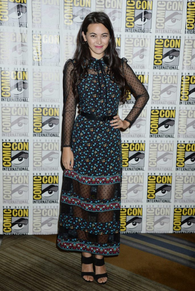 Jessica Henwick at The Defenders Presentation During the San Diego Comic-Con International-1