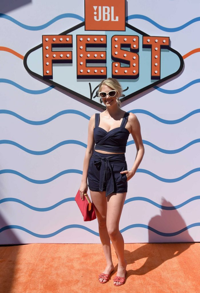 Kate Upton at JBL Fest Poolside: Sounds of Summer in Las Vegas-1