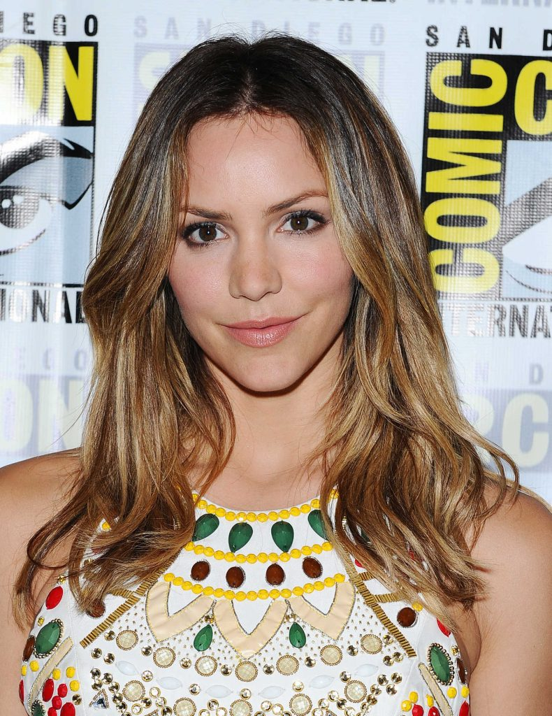 Katharine McPhee at CBS Television Studios Press Line During the San Diego Comic-Con International-5