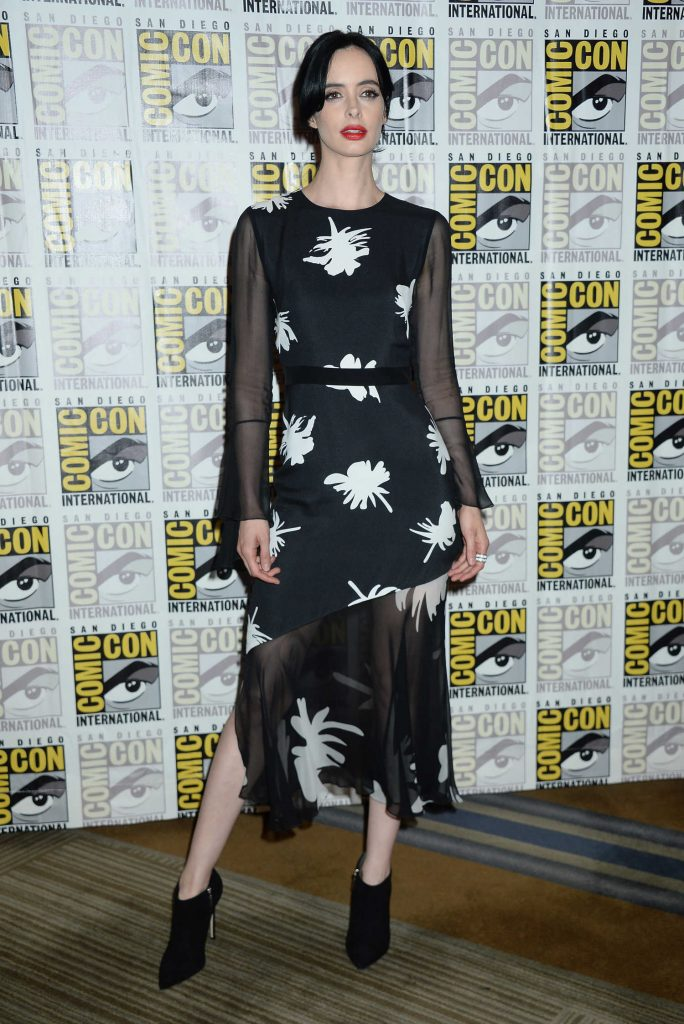 Krysten Ritter at The Defenders Presentation During the San Diego Comic-Con International-1