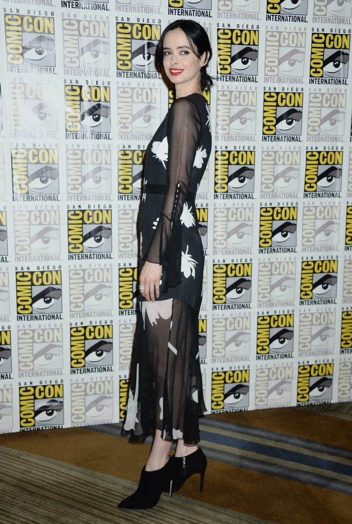 Krysten Ritter at The Defenders Presentation During the San Diego Comic-Con International-3
