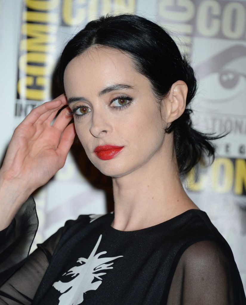 Krysten Ritter at The Defenders Presentation During the San Diego Comic-Con International-4