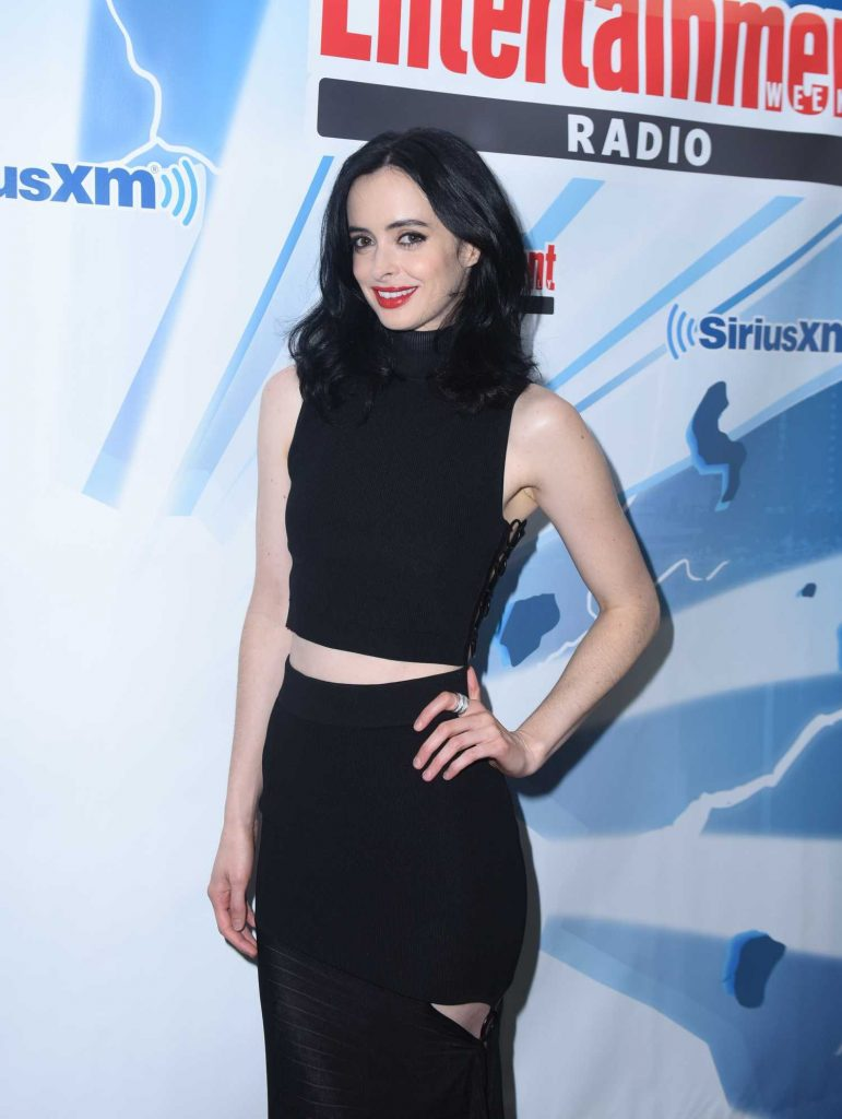 Krysten Ritter at the SiriusXM's Entertainment Weekly Radio Channel Broadcasts from San Diego Comic Con-2