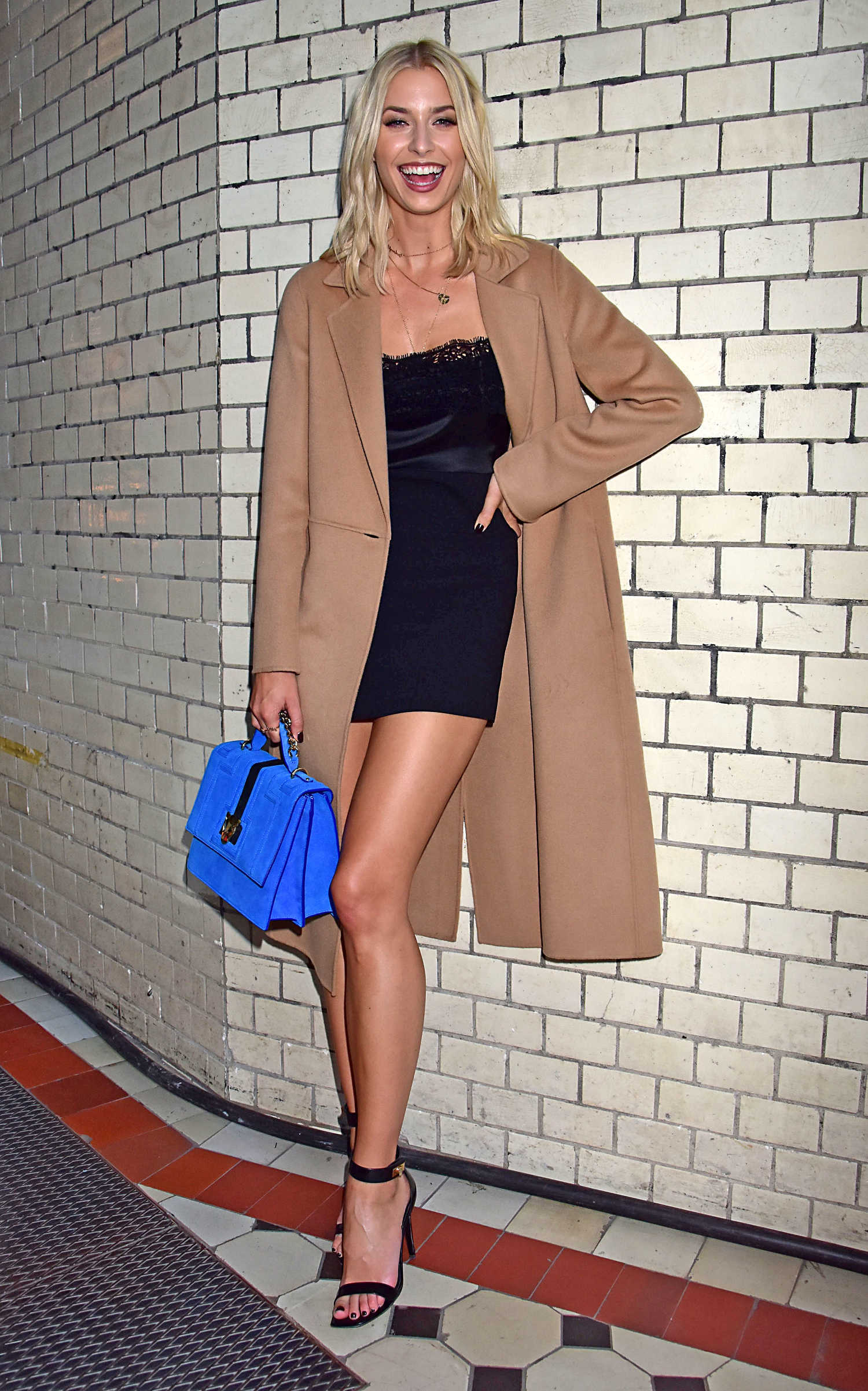 Lena Gercke During the Mercedes Benz Fashion Week in