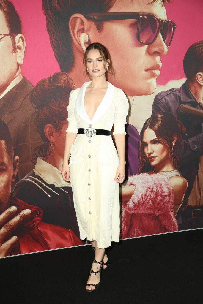Lily James at the Baby Driver Australian Premiere in Sydney-1