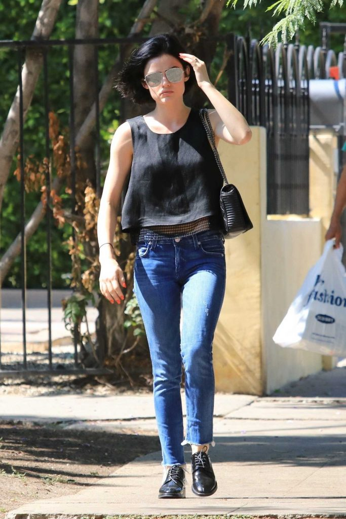 Lucy Hale Was Spotted in Beverly Hills-2