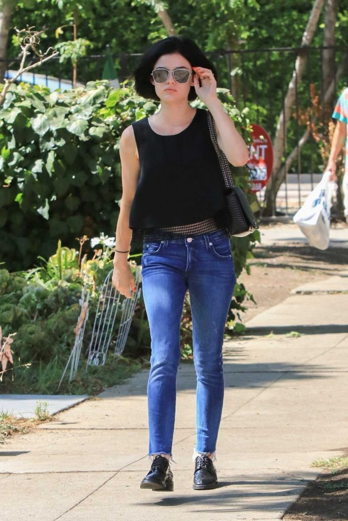 Lucy Hale Was Spotted in Beverly Hills-4