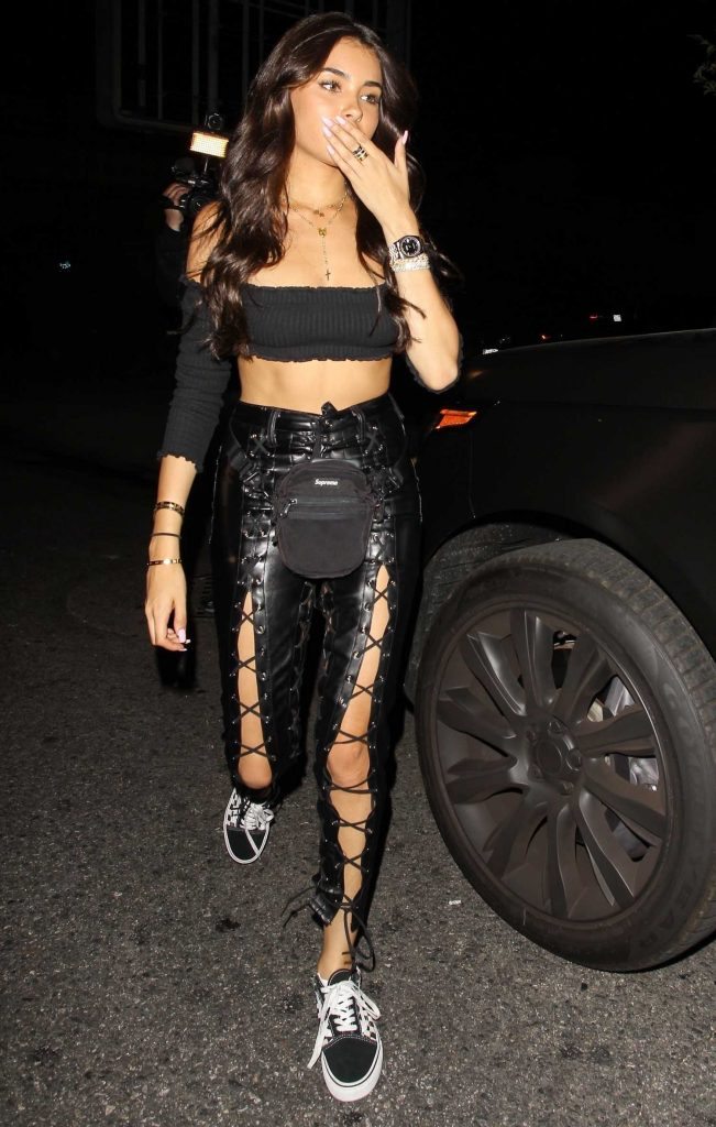 Madison Beer Leaves Delilah Night Club in West Hollywood-1