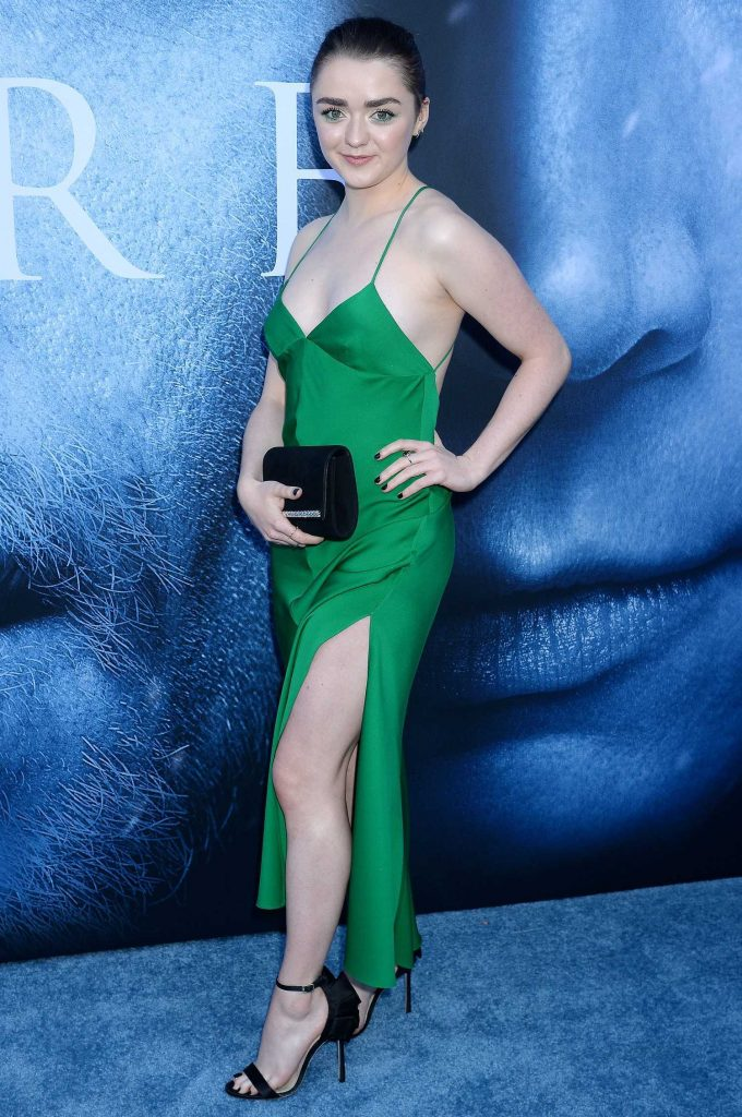 Maisie Williams at the Game of Thrones Season 7 Premiere in Los Angeles-3