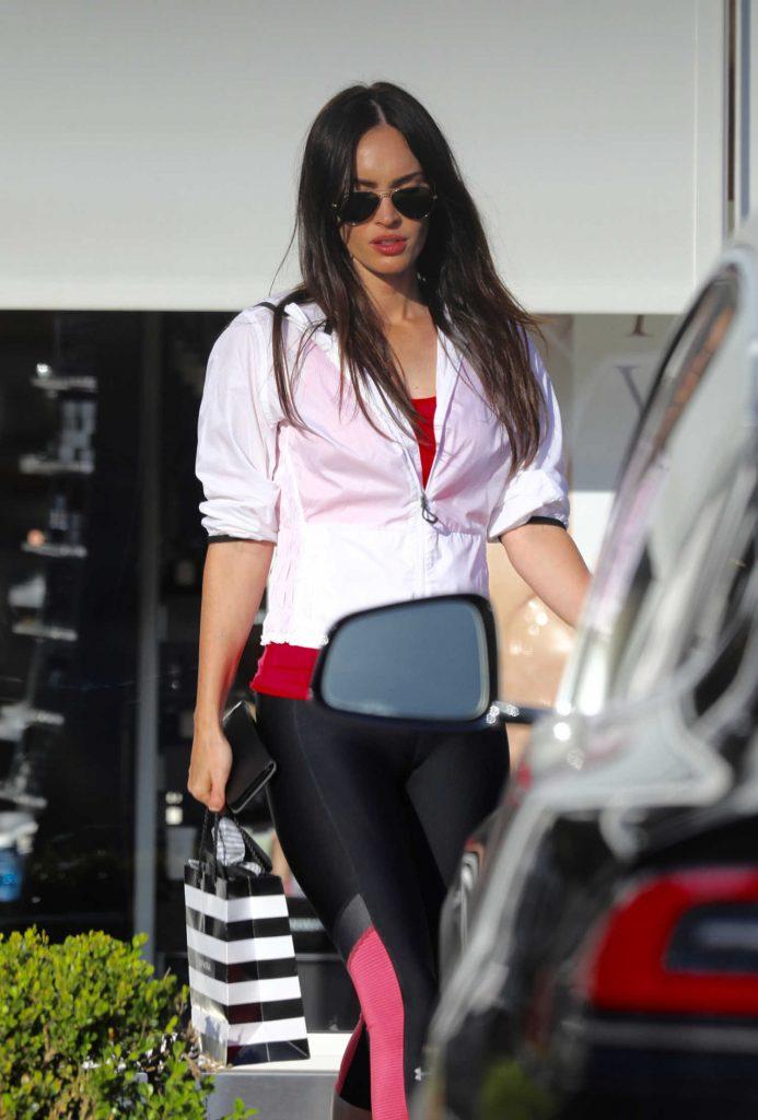 Megan Fox Was Seen Out in Malibu-2
