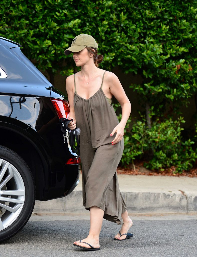 Minka Kelly Was Seen at the Dog Park in West Hollywood-4