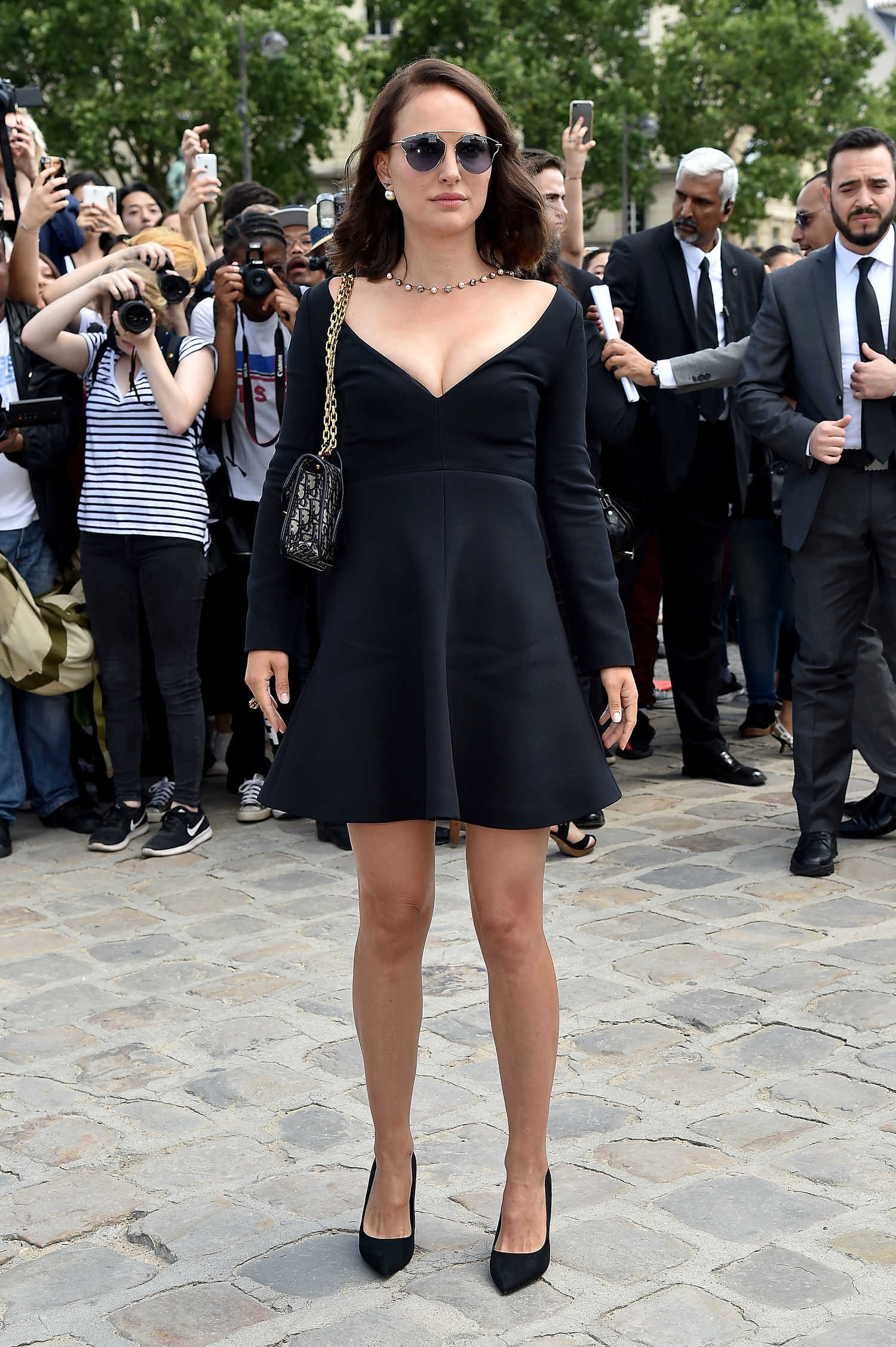 Natalie Portman at the Christian Dior Show During the ...