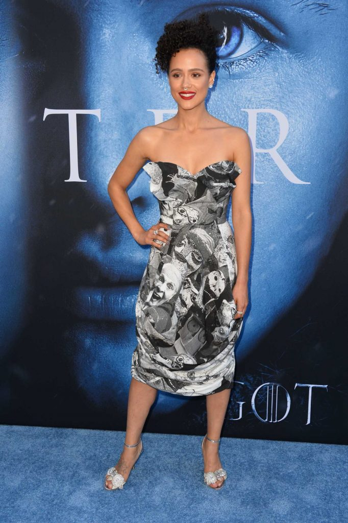 Nathalie Emmanuel at the Game of Thrones Season 7 Premiere in Los Angeles-1