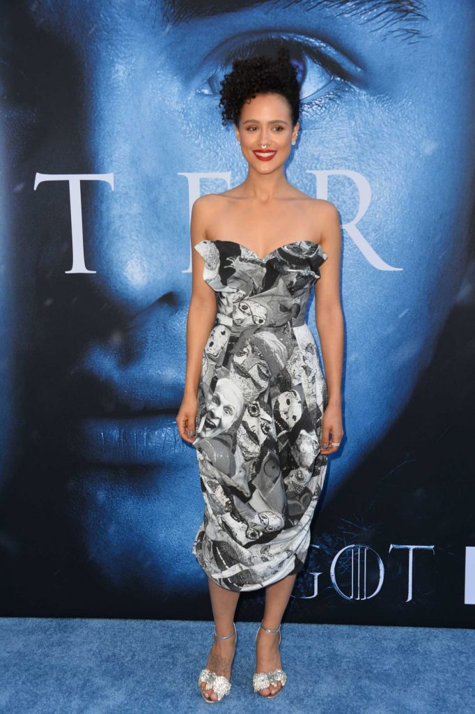 Nathalie Emmanuel at the Game of Thrones Season 7 Premiere in Los Angeles-2